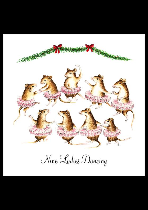 Ninth Day Of Christmas.12 Days Of Christmas Lyrics